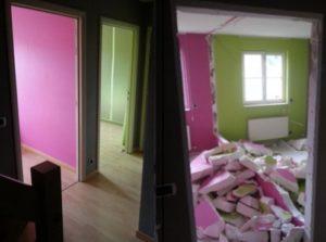 Klussen realisatie   DB Paints, schilderwerken Antwerpen, Hemiksem